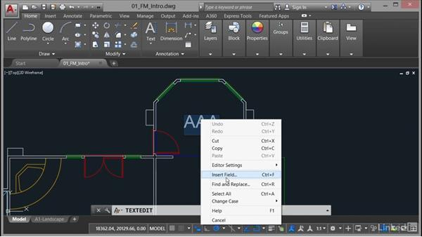 Managing your areas: AutoCAD Facilities Management: Areas