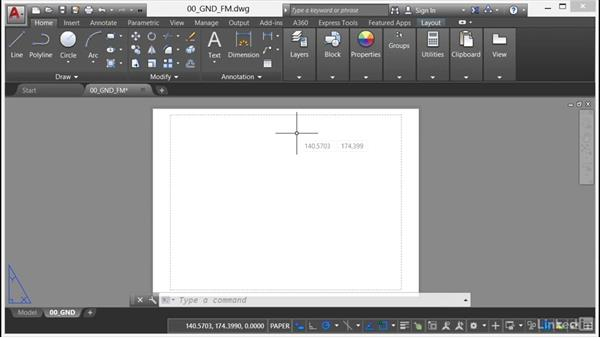 Using a proprietary title block: AutoCAD Facilities Management: Areas