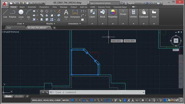 Why use polylines?: AutoCAD Facilities Management: Areas