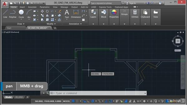 Gross external area (GEA): AutoCAD Facilities Management: Areas