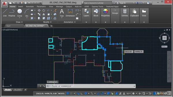 Using lineweight (LWT): AutoCAD Facilities Management: Areas