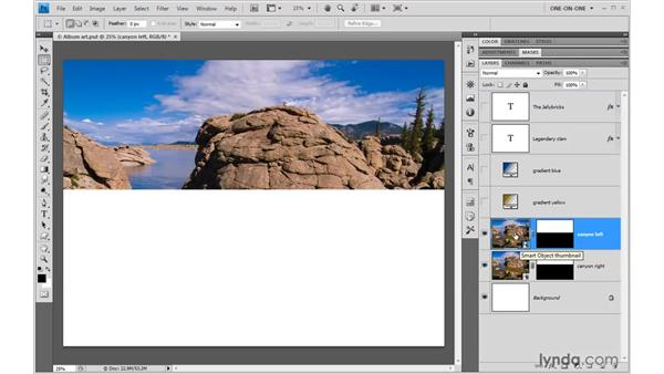 Assembling a layered ACR composition: Photoshop CS4 One-on-One: Mastery