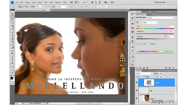 Live type that inverts everything behind it: Photoshop CS4 One-on-One: Mastery