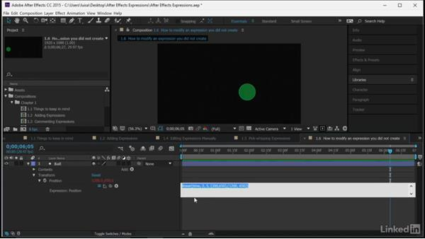 How to modify an expression you did not create: After Effects Guru: Expressions
