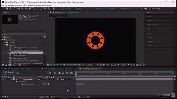 Wiggle expression: After Effects Guru: Expressions