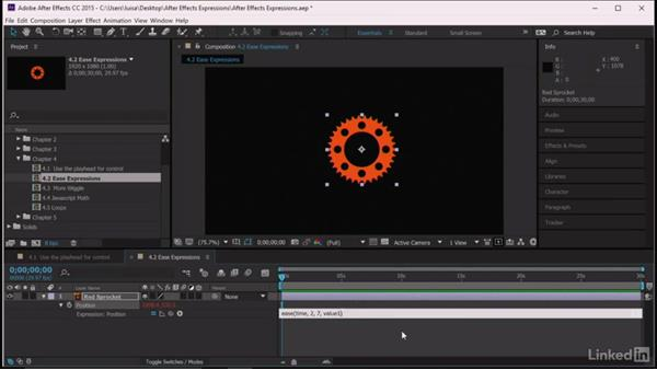Ease expressions: After Effects Guru: Expressions