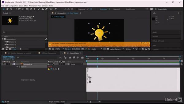 More wiggle: After Effects Guru: Expressions