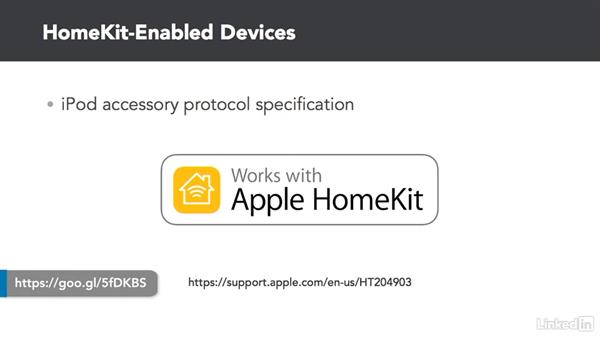HomeKit devices: Developing for HomeKit & iOS