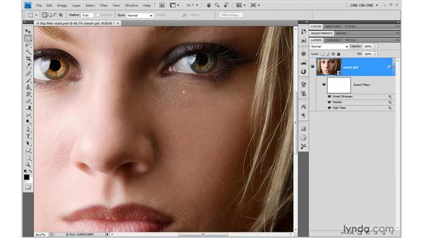 Smart Filter stacking order: Photoshop CS4 One-on-One: Mastery