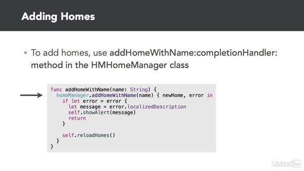 Working with homes: Developing for HomeKit & iOS