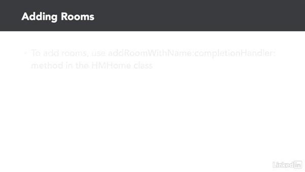 Working with rooms: Developing for HomeKit & iOS