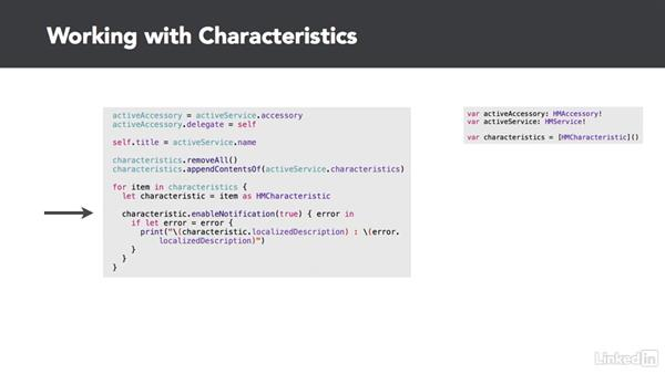 Service characteristics: Developing for HomeKit & iOS