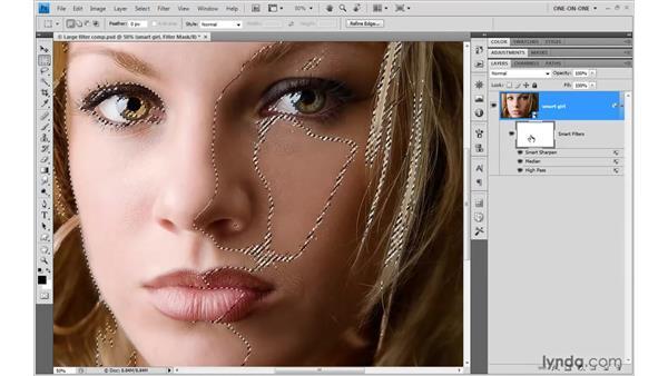 Masking Smart Filters: Photoshop CS4 One-on-One: Mastery