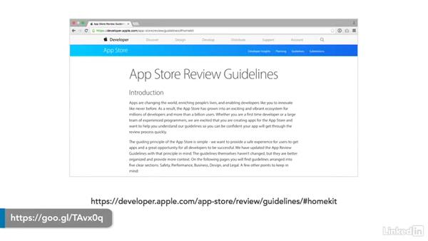 Knowing the App Store Review Guidelines: Developing for HomeKit & iOS