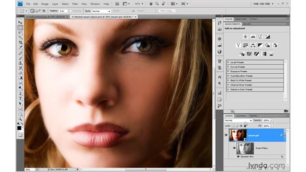 Using the Shadows/Highlights filter: Photoshop CS4 One-on-One: Mastery