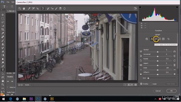 Fixing perspective and keystoning with Upright: After Effects Guru: Advanced Photoshop Integration