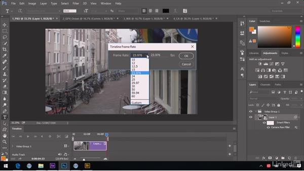 Exporting corrected video: After Effects Guru: Advanced Photoshop Integration