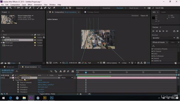 Animating with Vanishing Point: After Effects Guru: Advanced Photoshop Integration
