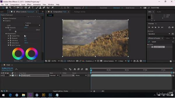 Loading a LUT in After Effects