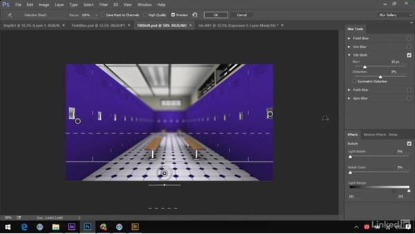 Creating depth with the Blur Gallery: After Effects Guru: Advanced Photoshop Integration