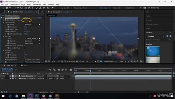 Animating depth blurs in After Effects: After Effects Guru: Advanced Photoshop Integration