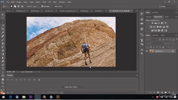 Cleaning up a background plate: After Effects Guru: Advanced Photoshop Integration