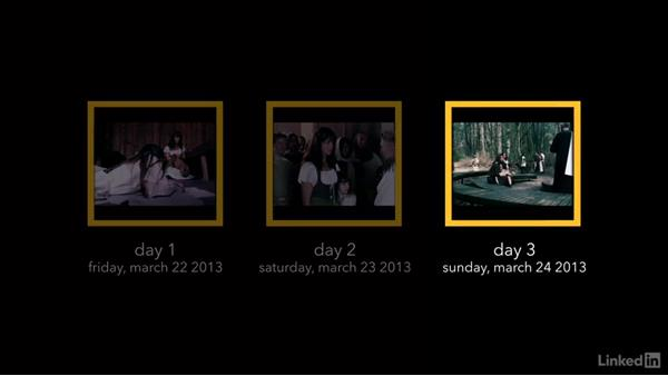 How long should the day be?: Creating a Short Film: 06 Working on Set
