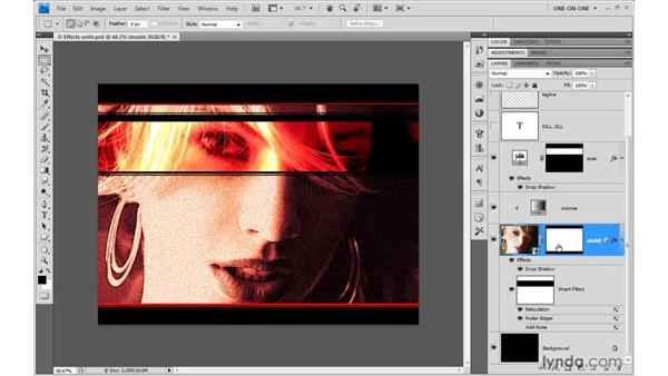 Addressing a few Smart Filter bugs: Photoshop CS4 One-on-One: Mastery
