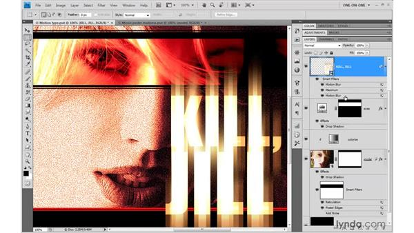 Duplicating a Smart Filter: Photoshop CS4 One-on-One: Mastery