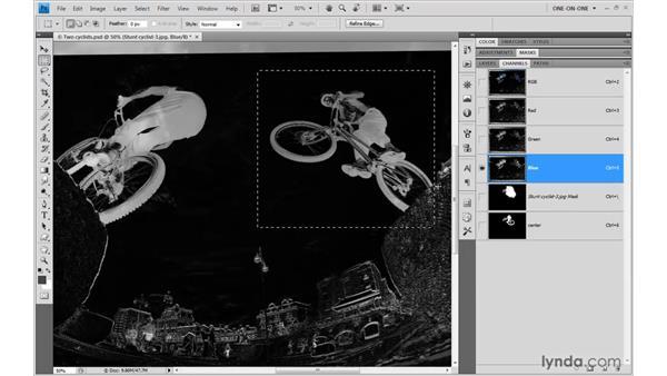Masking smarter, not harder: Photoshop CS4 One-on-One: Mastery