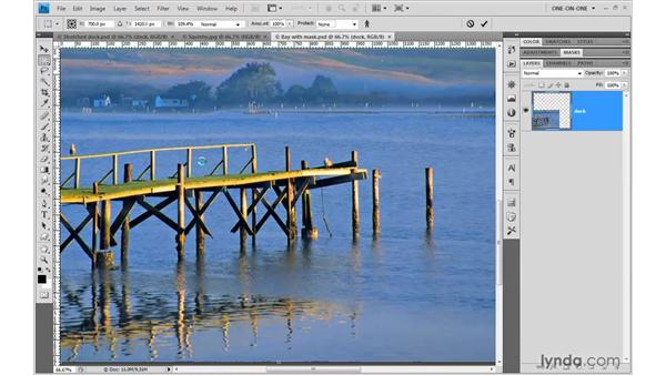Applying incremental edits: Photoshop CS4 One-on-One: Mastery