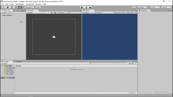 Unity overview and configuration: Programmatic UI with Unity