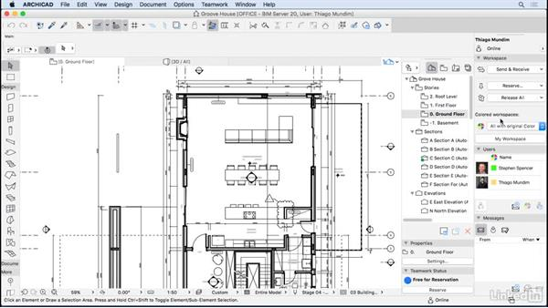 Teamwork and collaboration: ArchiCAD: Management & Collaboration