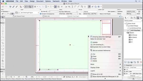 Creating a layout file: ArchiCAD: Management & Collaboration