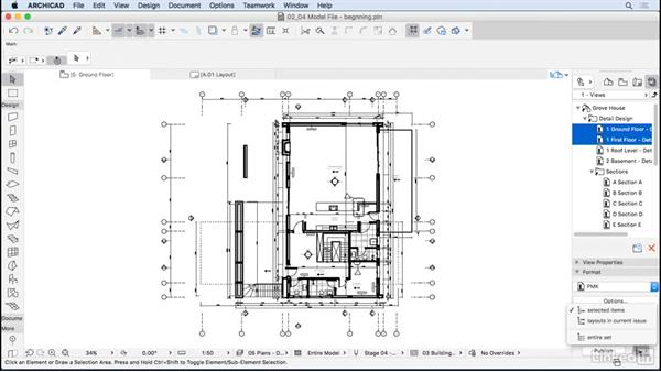 Using PMK drawings: ArchiCAD: Management & Collaboration