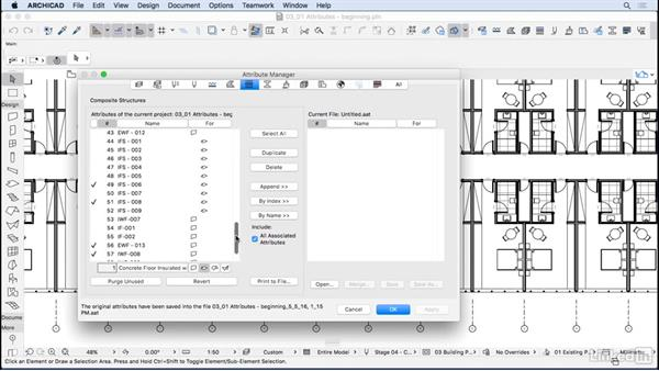 Attribute Manager: ArchiCAD: Management & Collaboration