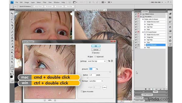 Permitting the user to change settings: Photoshop CS4 One-on-One: Mastery