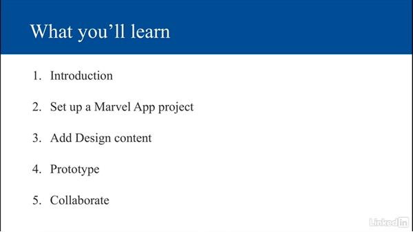What you'll learn: UX Design Tools: Marvel