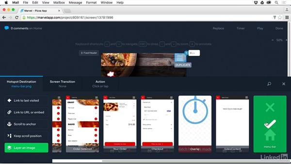 Layer an image: UX Design Tools: Marvel