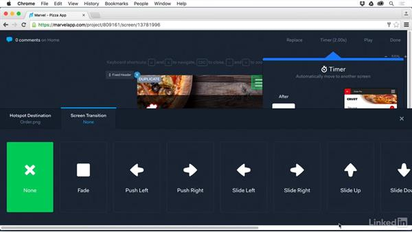 Set up screen timers: UX Design Tools: Marvel