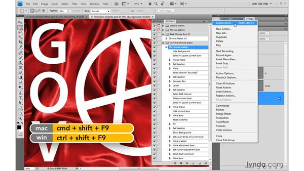 Testing that it works: Photoshop CS4 One-on-One: Mastery