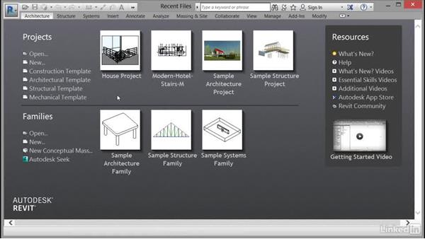 Using the exercise files: Cert Prep: Revit Architecture Certified Professional