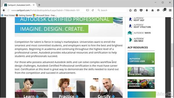 What is an Autodesk certification?: Cert Prep: Revit Architecture Certified Professional