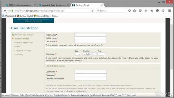 Using the Certiport Portal: Cert Prep: Revit Architecture Certified Professional