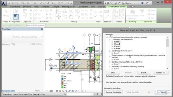 Assessing review warnings in Revit: Cert Prep: Revit Architecture Certified Professional