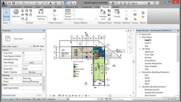Working with phases: Cert Prep: Revit Architecture Certified Professional