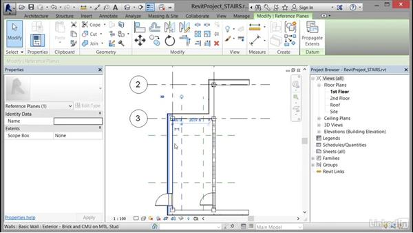 Creating a stair with a landing: Cert Prep: Revit Architecture Certified Professional
