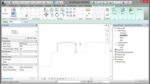 Modeling railings: Cert Prep: Revit Architecture Certified Professional