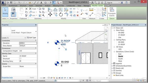 Using levels: Cert Prep: Revit Architecture Certified Professional