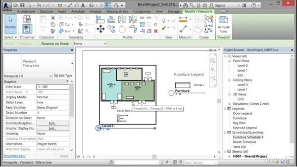 Managing view positions on sheets: Cert Prep: Revit Architecture Certified Professional